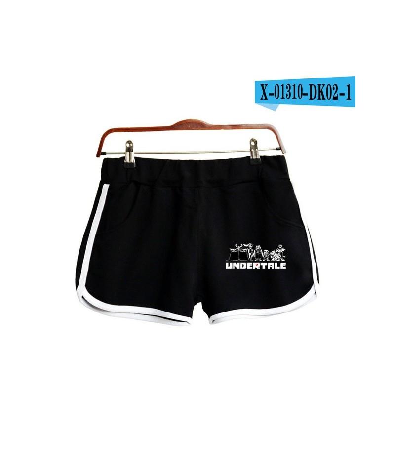 Shorts Women Casual Cotton Short Femme Contrast Elastic Waist Shorts 2019 New Fast Drying Drawstring Clothing - Black - 4K41...
