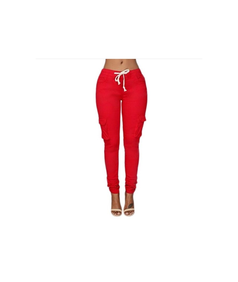 White Colors Elastic Sexy Skinny Pencil Jeans For Women Leggings Jeans Woman High Waist Women's Thin-Section Denim Pants - B...