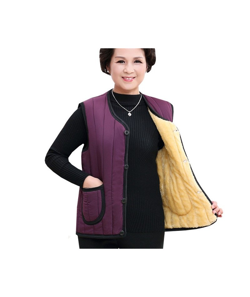 Autumn Winter Women Parka Vest Coats New Warm Thick Down Cotton Vests Jacket Female Plus Size 4xl Sleeveless Waistcoat Tops ...
