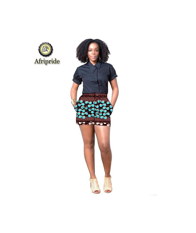 2019 african print summer shorts for women women casual shorts plus size dashiki short ankara fabric S1921005 - 252X - 4I415...