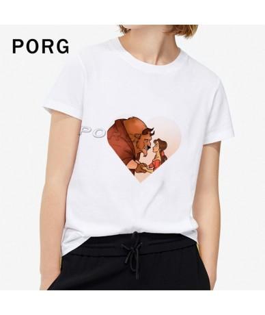 Funny Belle Loves Hamburger&Cola T Shirt Women Harajuku TShirt Streetwear Tops Gothic Funny T Shirts Camisetas Verano Mujer ...