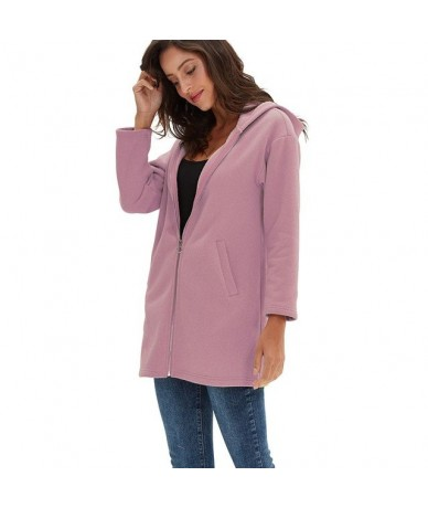 5XL Casual Soft Spring Autumn brushed hoodie for girls Solid Long Sleeve Zipper Pullover Coat Plus Size Sweatshirt homme M30...