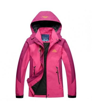 Waterproof Women's Jacket Coat Women Spring Autumn Winter Warm Windbreaker Outerwear Female Casual Hooded JacketsAW119 - ros...