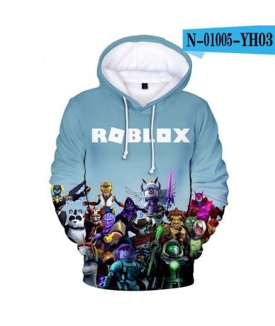 2019 3D Roblox hoodies Print Harajuku Long Sleeve hooded Women/men Clothes 2019 Hot Sale k-pops Casual Hoodies Plus Size 4XL...