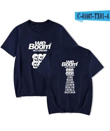 2019 NCT Dream new album WE BOOM Printed summer Women/Men Hot Sale Short Sleeve T-shirts Casual K-pops t-shirts Plus Size 4X...