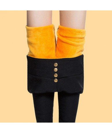 Women's Black Pant Pencil Trousers 2018 Spring Fall Button Pocke Pants Women Slim Ladies Jean Trousers Female High Waist Leg...