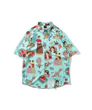 Harajuku Women Men Blouse Japanese Printed Short Sleeve Shirt 2019 Summer Tops and Blouses Unisex Streetwear Blusas 38682 - ...