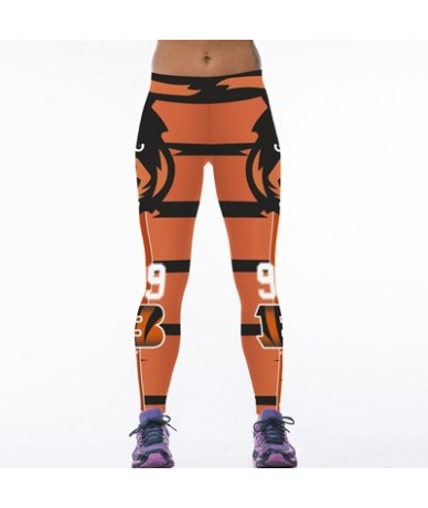 New Eagle 3D Printed Women Fitness Leggings Sexy Force Exercise Pants High Stretch Wicking Aerobics Workout Clothes - S5 - 4...